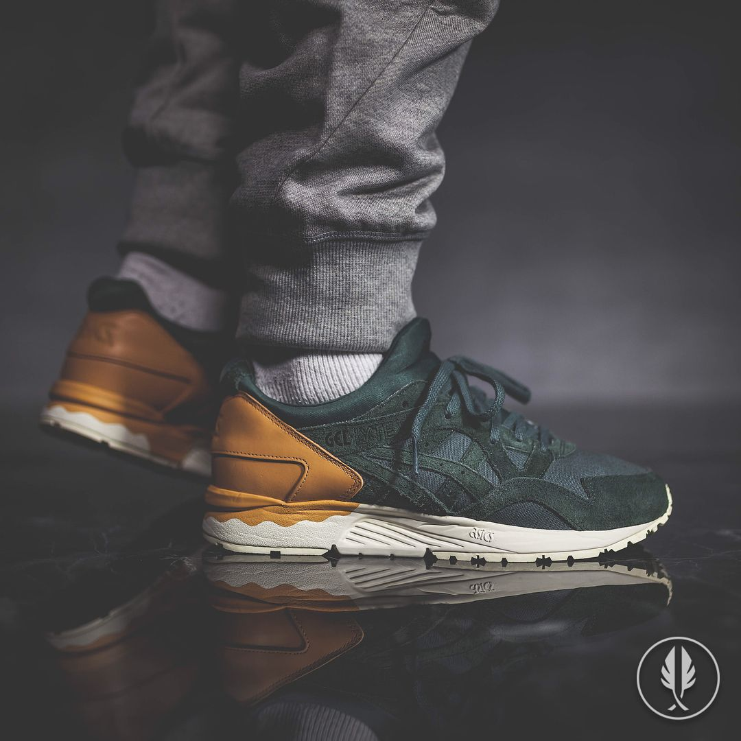 140e3d0598 Asics Gel Lyte V: Forest Green | Shoes | Sneakers, Shoes sneakers ...