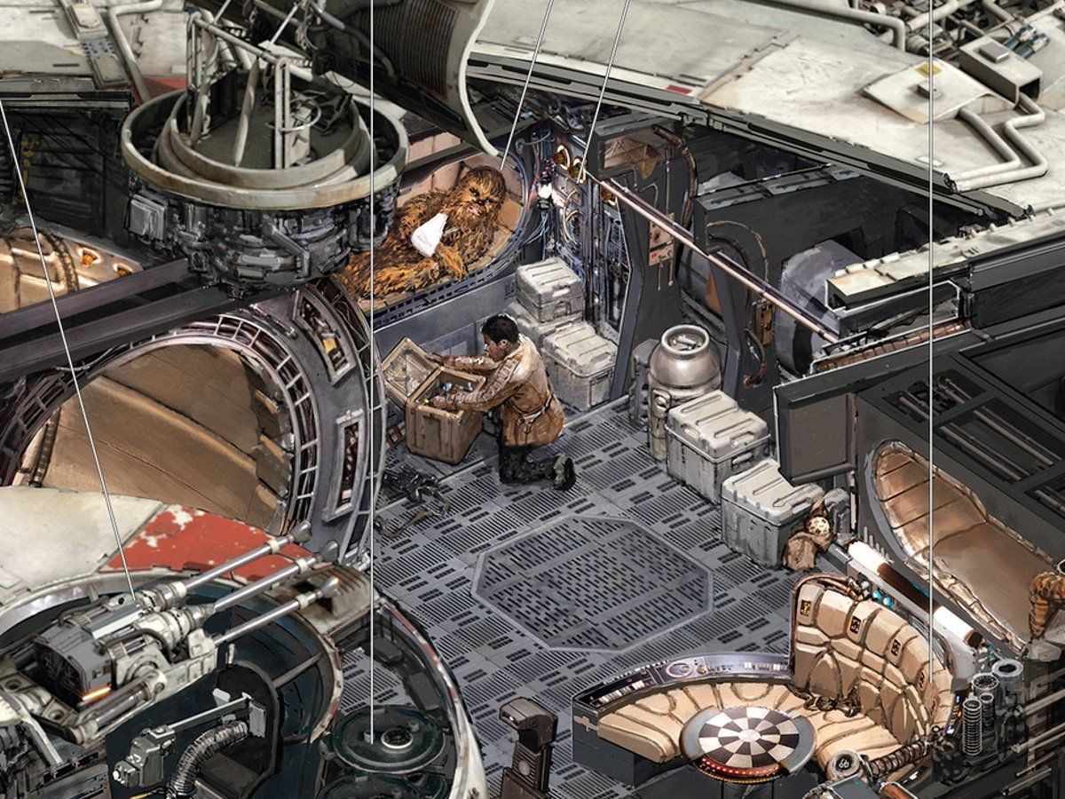 Parc Imperial Floor Plan Star Wars Fans Will Love These Detailed Drawings Of The