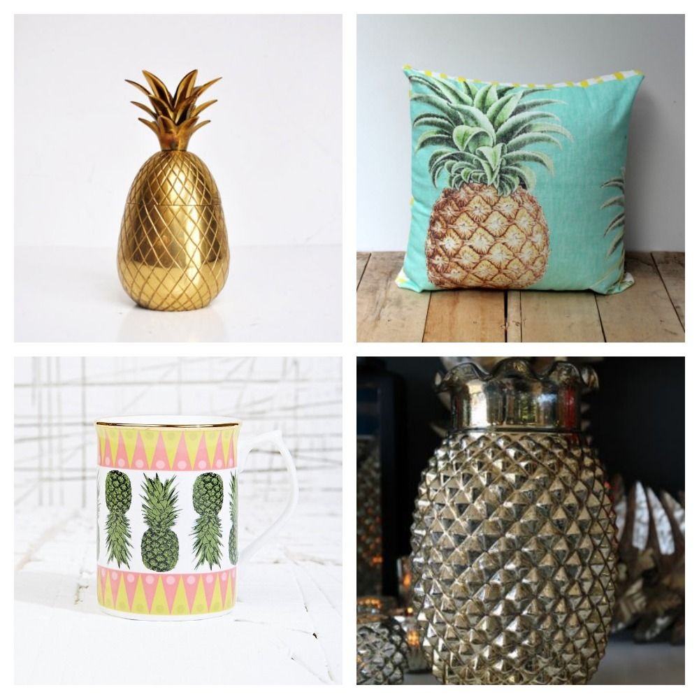 Pineapple decor google search ideas for my house home for Ananas dekoration