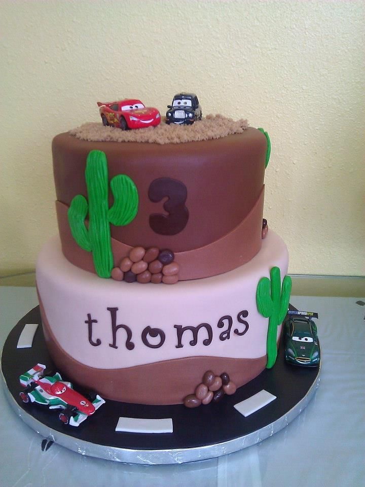 Swell Two Tier Cars Themed Birthday Cake Created And Designed By Sweet Funny Birthday Cards Online Necthendildamsfinfo