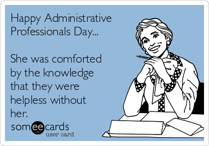 administrative professionals day quotes