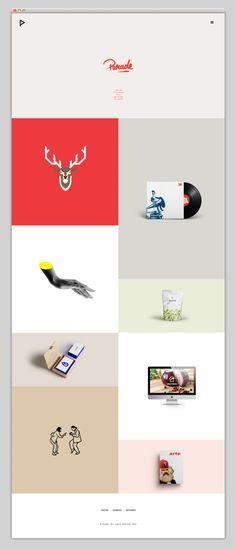 Parade Latest Modern Web Designs. http://webworksagency.com