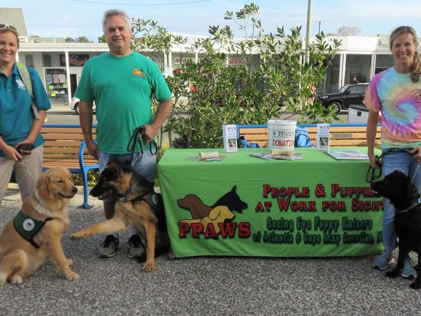 Cape Dog Training Group Makes Donation For Seeing Eye Puppies