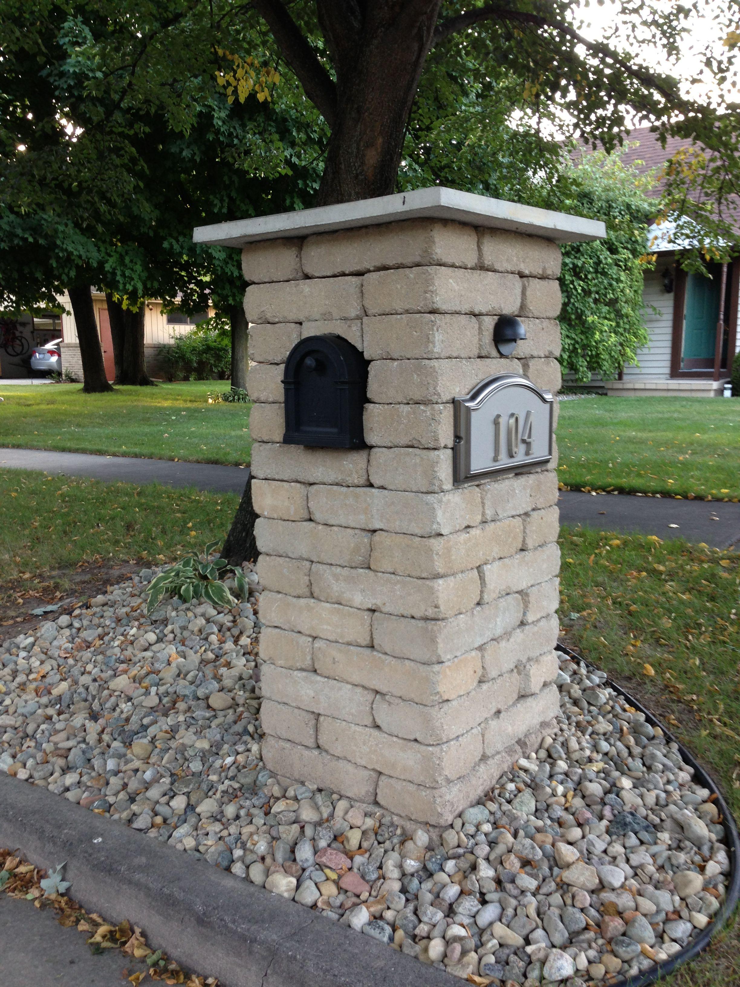 Brick Mailbox Georgeb Brick Mailbox Mailbox 400 x 300