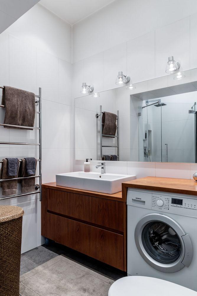 Lavadora Con Lavabo.Mueble Para El Lavabo Con Un Mesado En El Que Camuflar La