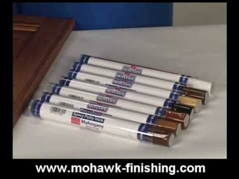 12 How To Use Hard Fillers For Wood Touch Up And Repair By Mohawk Finishing Products Mpg You