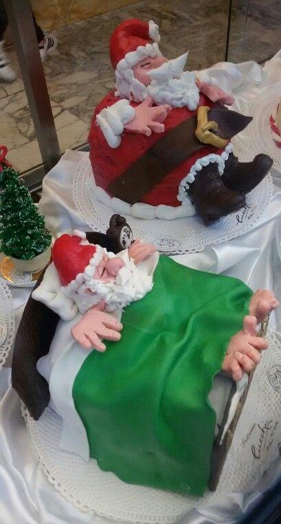 Babbi Natale a riposo