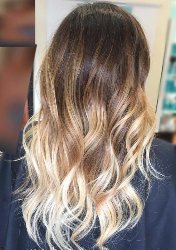 Most Of The Women Love To Sport Long Wavy Ombre Hairstyles Because They Always Give Stunning Look And Shades With Variou Balyage Hair Balayage Hair Hair Styles