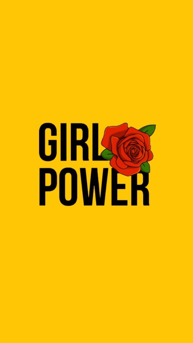 Girlpower Wallpaper Feminist Rose G 252 L Wallpaper