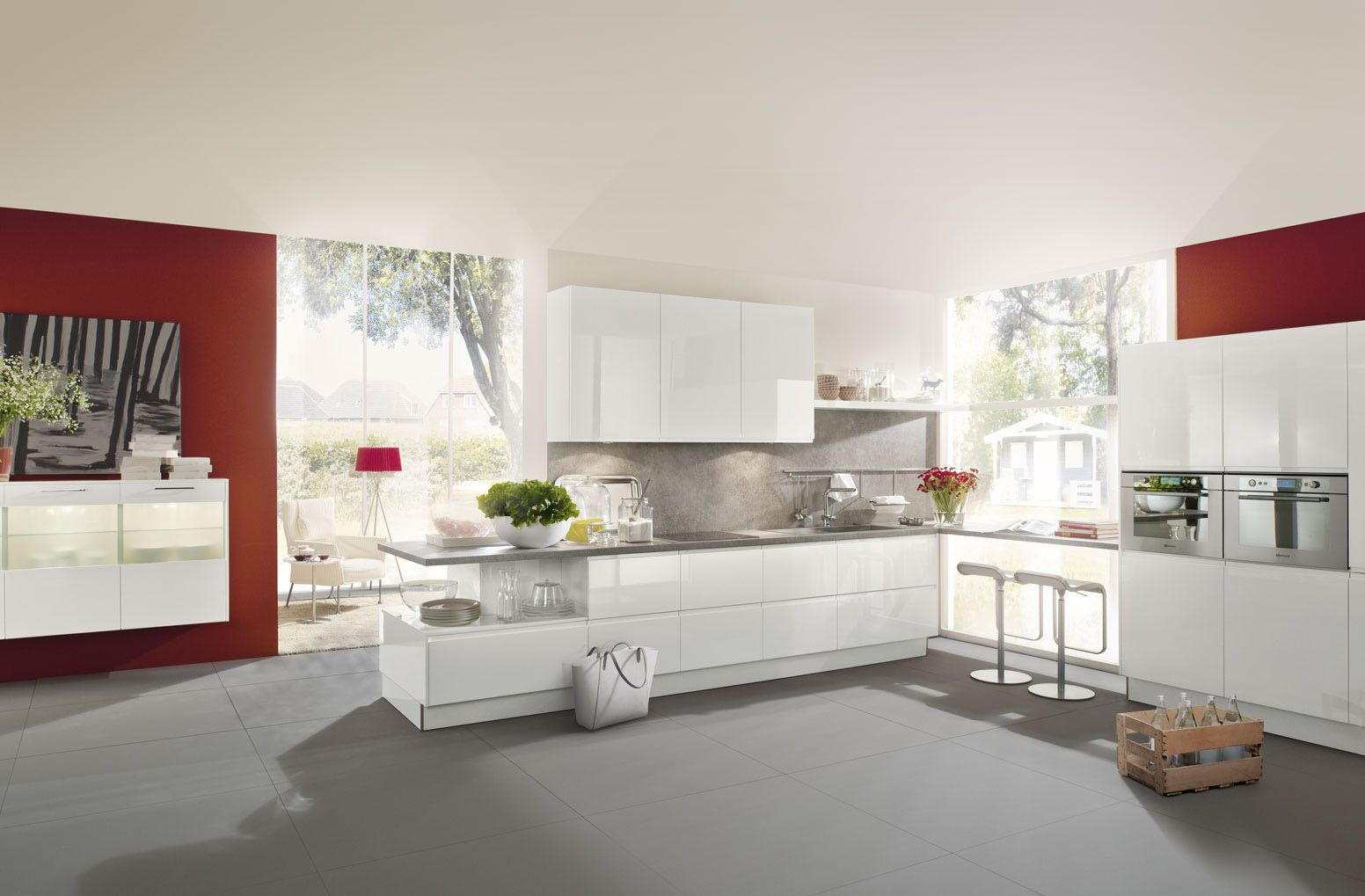 Lumos | Weiß Hochglanz Lack   Häcker Küchen   Häcker Küchen
