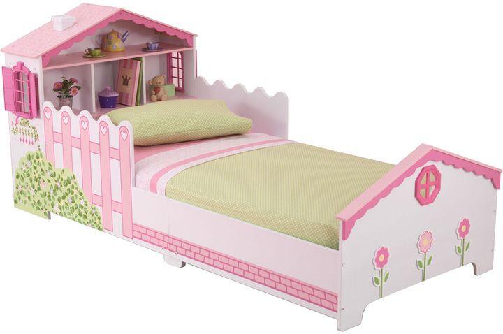 Kidkraft Dollhouse Toddler Bed Kids Bedroom Decor Pinterest