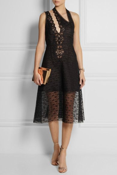 Stella Mccartney Black Lace Dress Moda Pinterest Stella