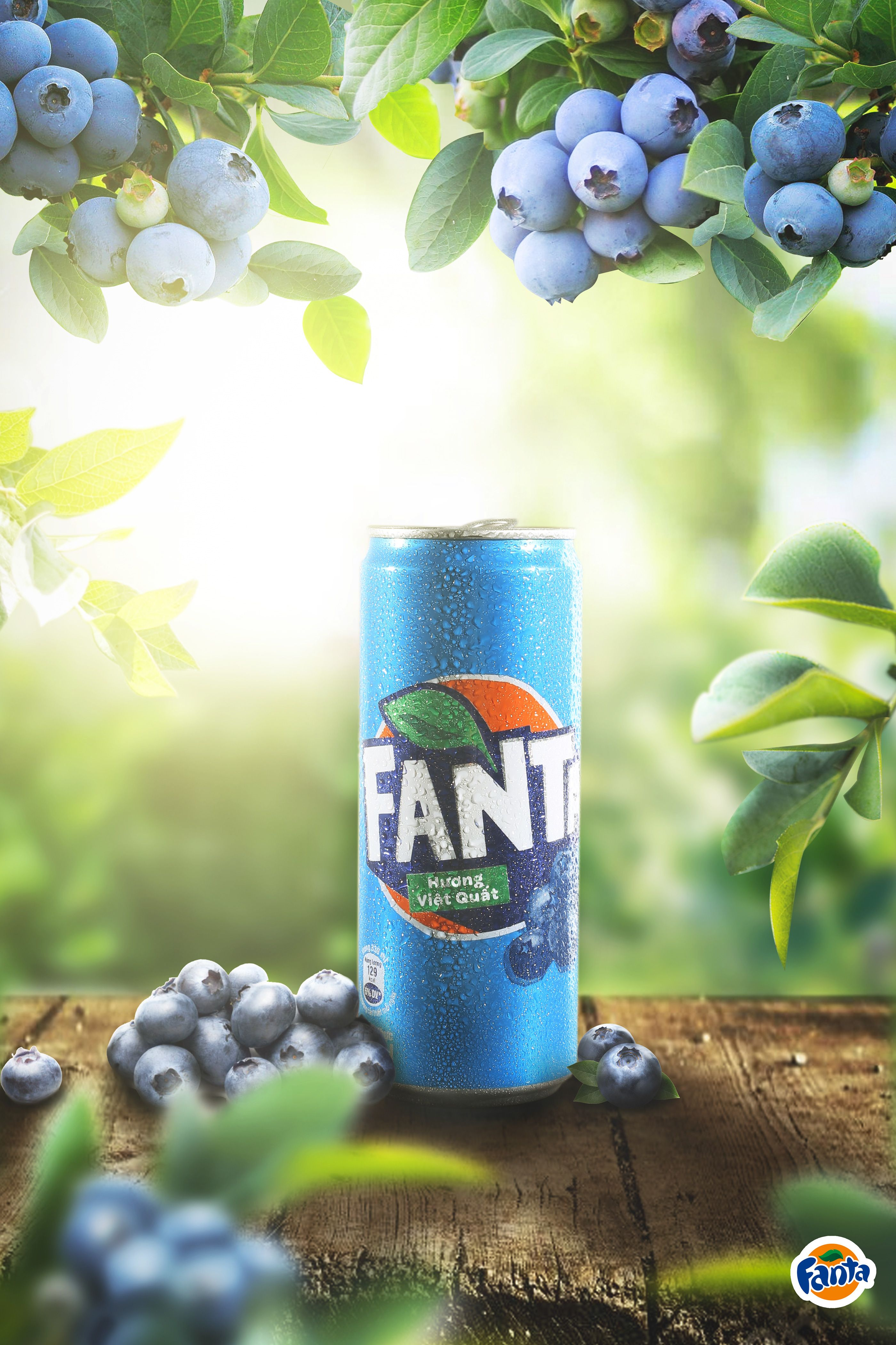 Blueberry Fanta Package Poster Design in 2020 | Photoshop ...