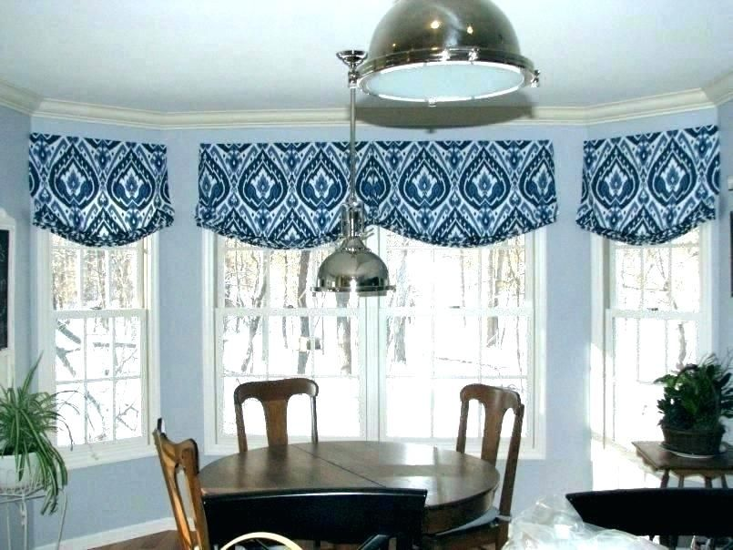 Bay Window Valence Kitchen Valance Ideas Bay Window Magnificent