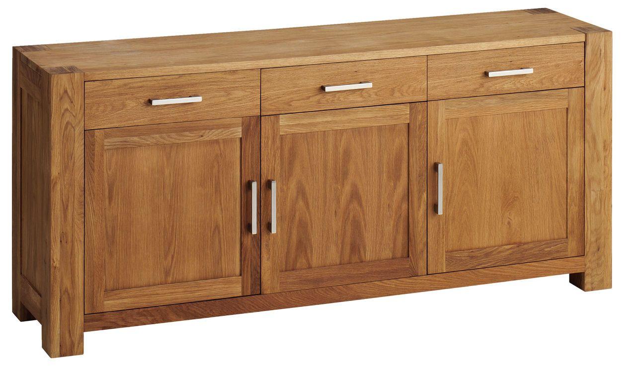 Sideboard PHOENIX 3 doors oiled oak at JYSK living room Sideboard, Home furniture, Furniture