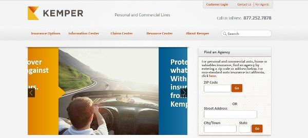 Kemper Auto Insurance Car Insurance
