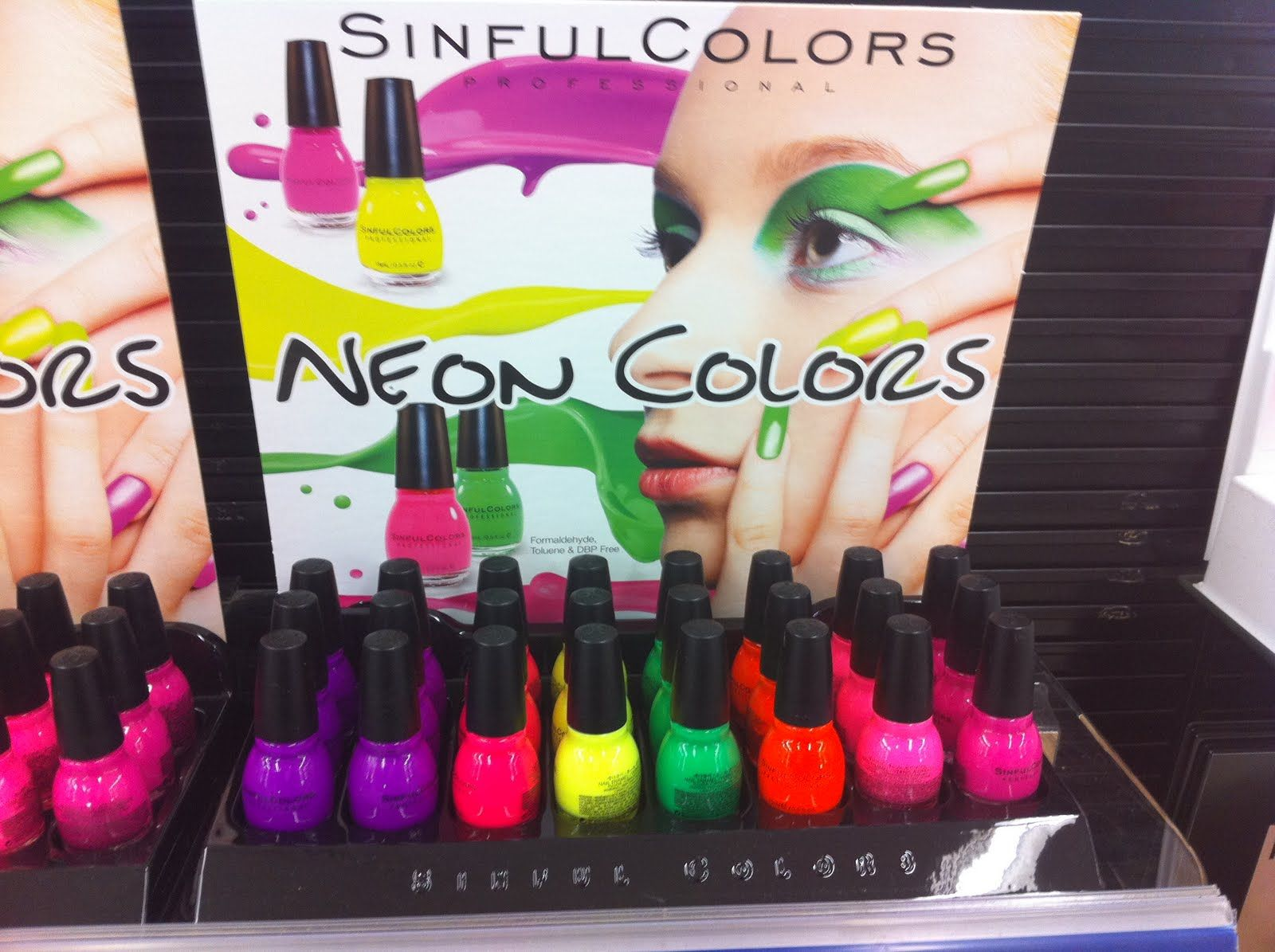 Bright Neon Colors   Sinful Colors Neon Colors Nail Polish   In ...