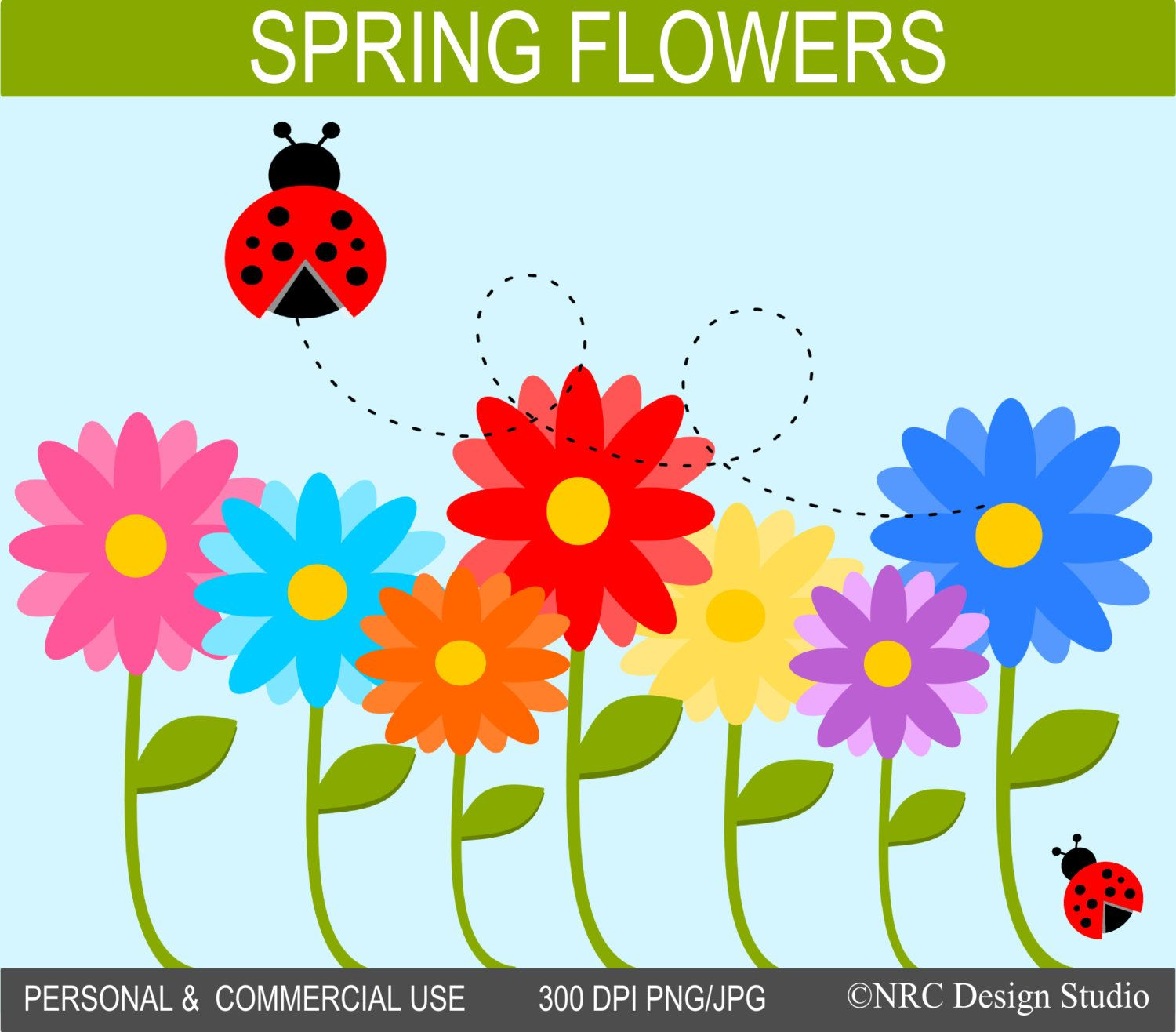 Spring Flowers Clip Art Projects To Try Pinterest Spring