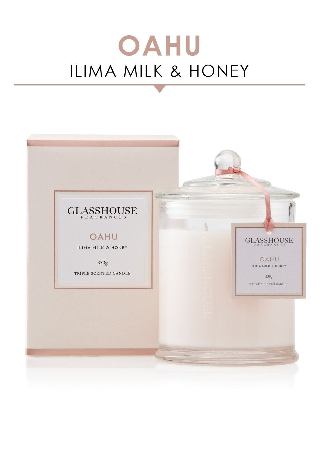 Glasshouse Fragrances Oahu Candle