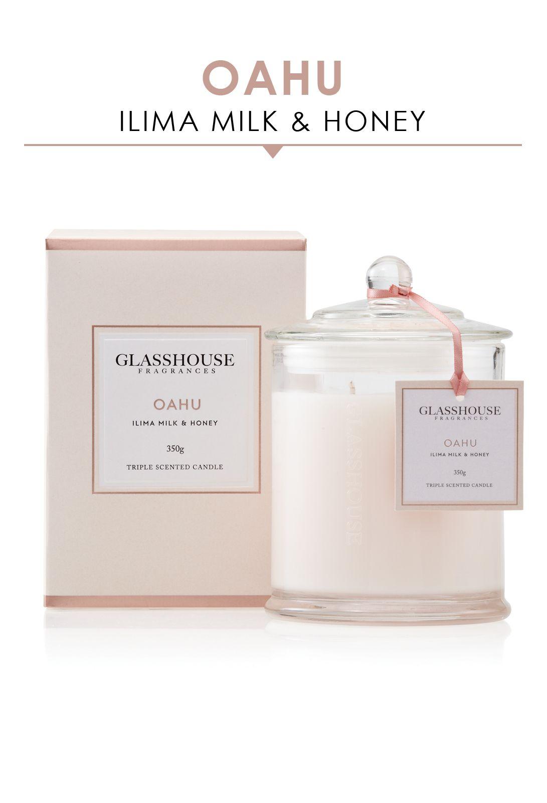 Glasshouse Fragrances Oahu Candle