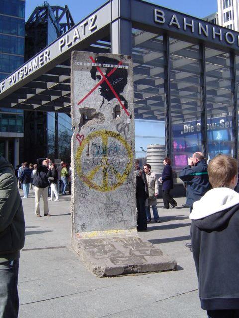 Muro de Berlín by Betsy