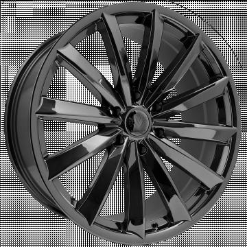 Vogue Vt388 Black Eco Plate Black Wheels Chrome Wheels Black Chrome Wheels