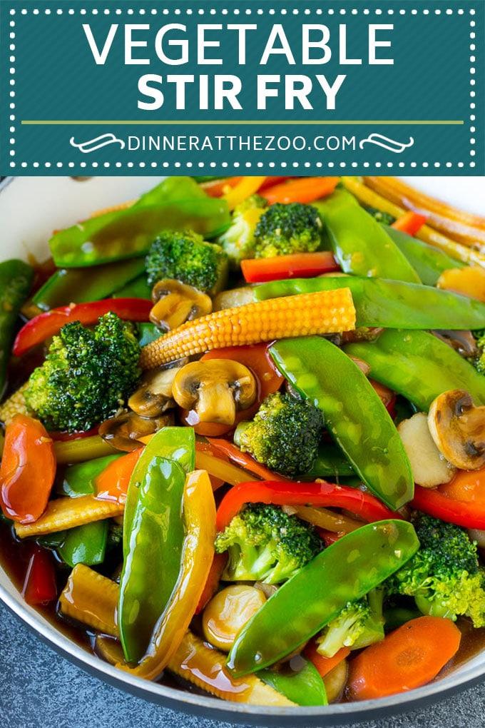 Vegetable Stir Fry - Dinner at the Zoo