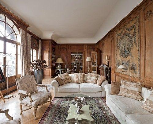 Appartement de réception - paris 16 - jardins du ranelagh paris ...