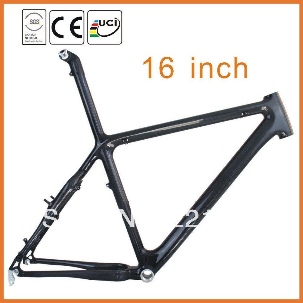 Wonderfull!!! 26er Hard Tail Mountain Full Carbon Bicycle MTB Frame ...