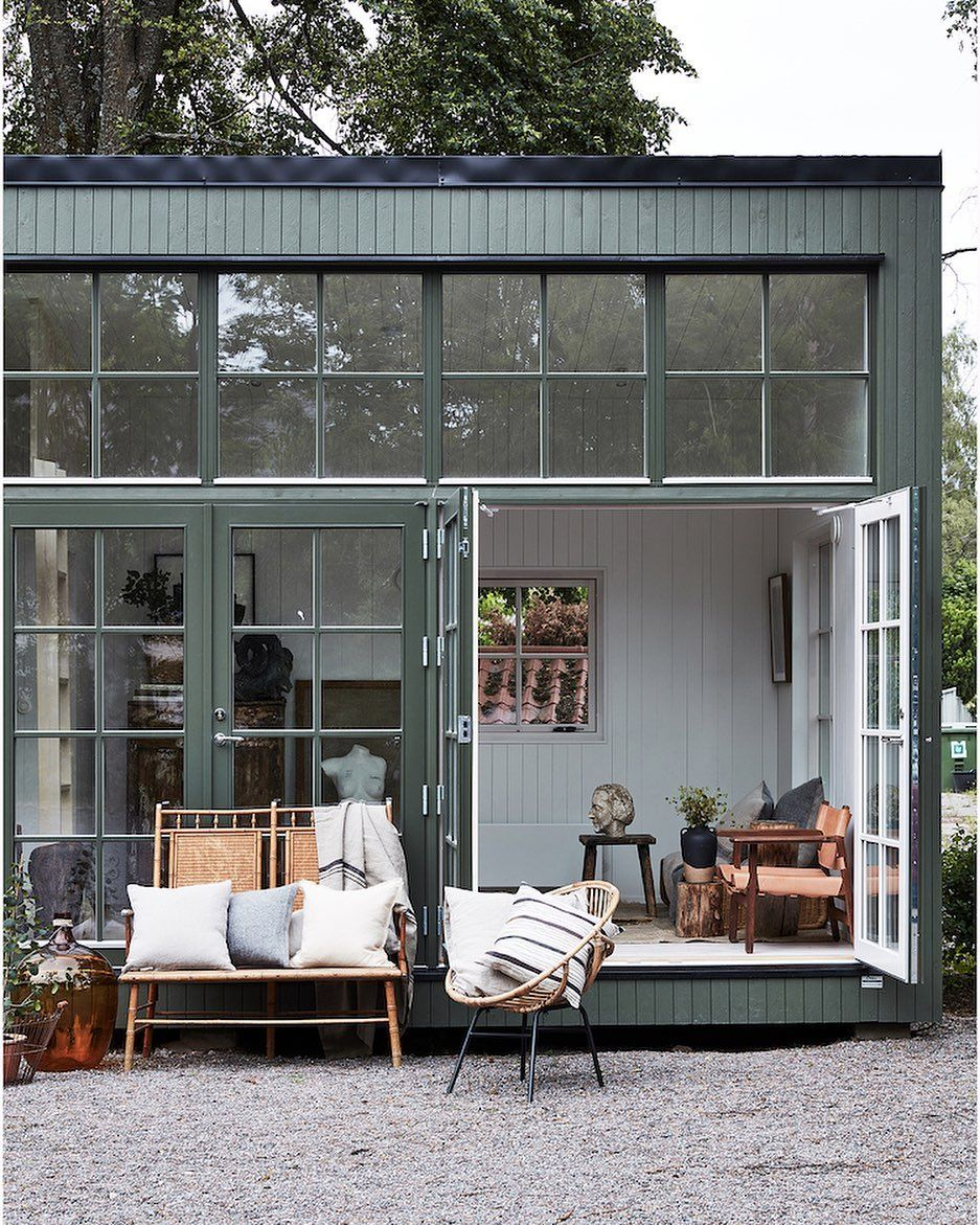My Scandinavian Home Myscandinavianhome Posted On Instagram How About This Little Swedish C In 2020 Small Space Inspiration My Scandinavian Home Scandinavian Home
