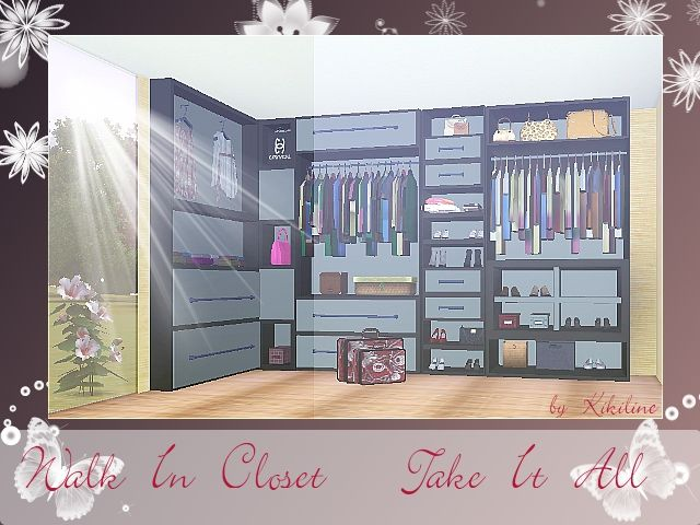 Mirror Window An Walk In Closet At Sims 3 Community Social Sims Sims House Design Sims 3 Sims