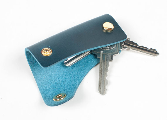 Handcraft Leather Key Case Keychain Leather Key holder Key pouch mens  keychain Perfect Father s day gift 2ae33ff0cb1d