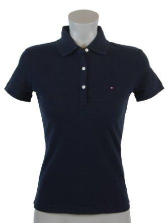e31985d2 Tommy Hilfiger Slim Fit Womens Pique Polo Shirt - X-Small - Navy Blue Tommy  Hilfiger. $39.99