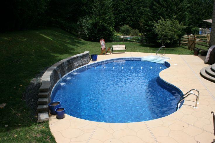 9 Kidney Bean Pool Ideas Pool Kidney Shaped Pool Pool Designs