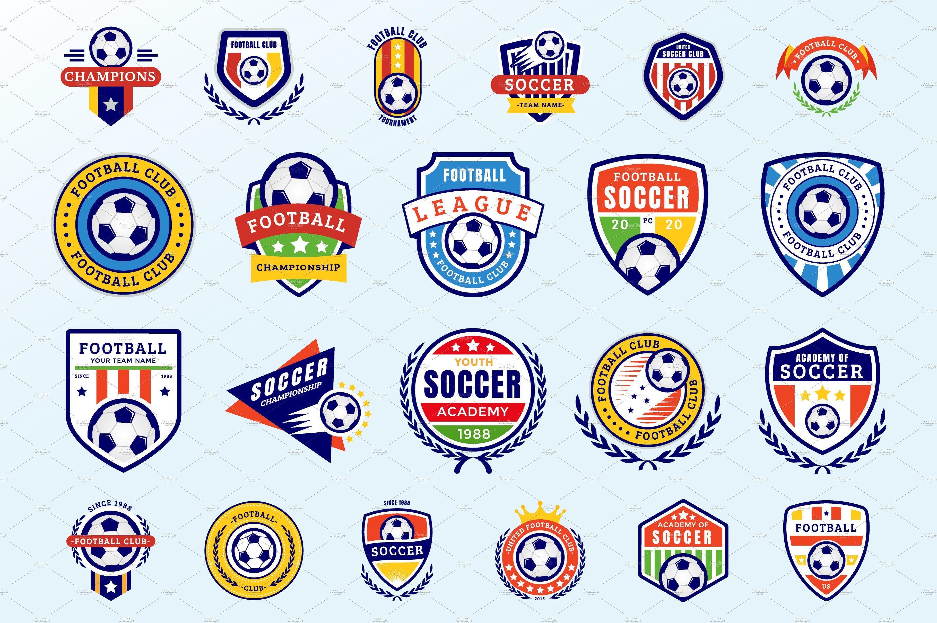 Soccer Badges Badge Soccer Logo Soccer Academy
