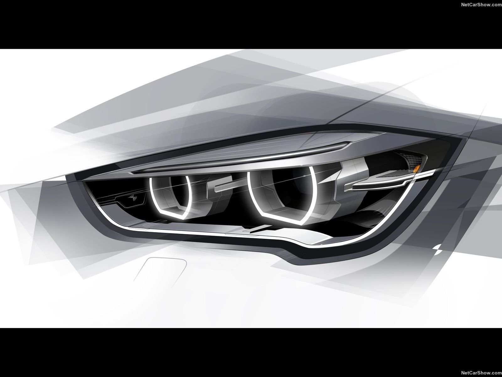 bmwx12016 headlamp lighting design sketches