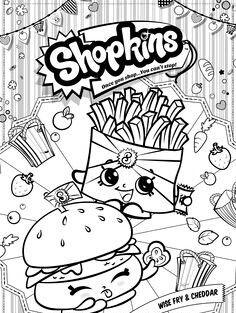 Shopkins Coloring Page Kolorowanki Kolorowanka Fotografia