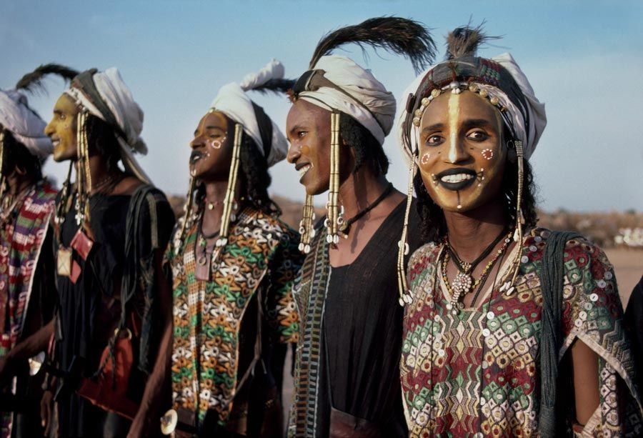 Wodaabe Tribe, Niger/ Photography by Steve McCurry / Here you can download Steve's FREE PDF Catalog and order PRINTS /stevemccurry.com/...