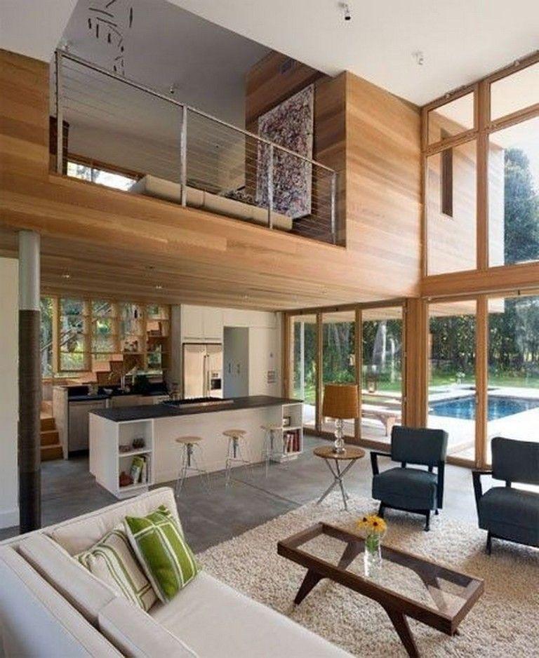 34 Amazing Modern House Design Ideas Loft House Cozy Living