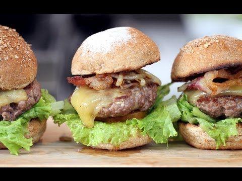Cara Membuat Mini Burger Daging Empuk Resep Burger Burger Resep