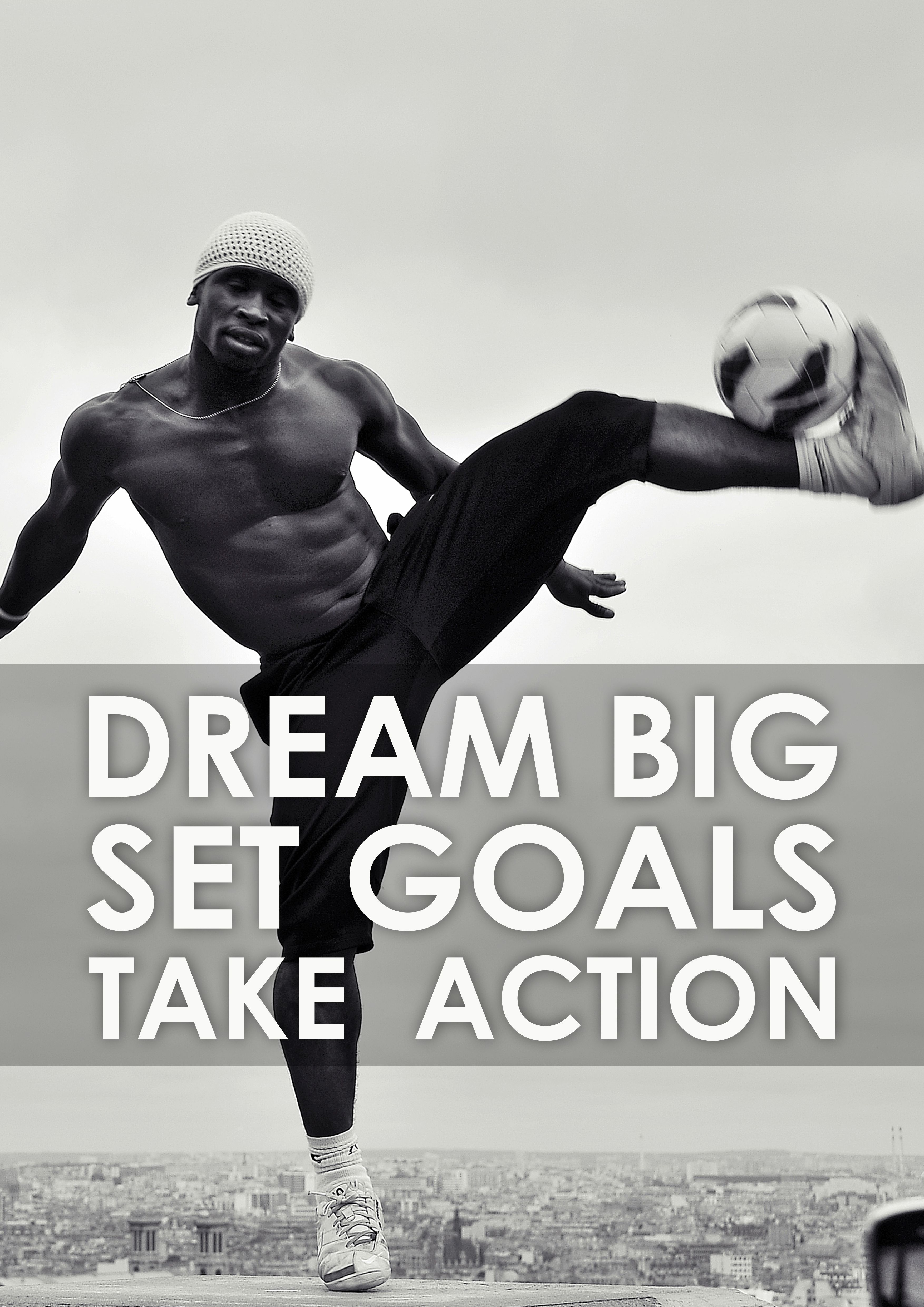 Motivational quotes dream quotes dream big quotes action quotes - Dream Big Fitness Sport Gym Workout Quotes Aliyari