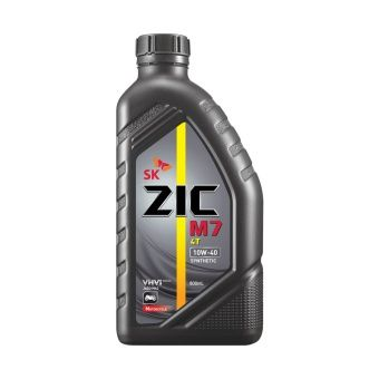 Sk Zic M7 4at 10w 40 Synthetic Motor Oil For Scooters 800ml