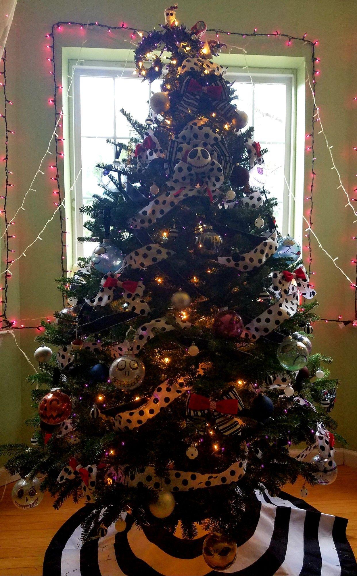 Nightmare Before Christmas Tree Idea Nightmare Before Christmas Tree Christmas Tree Themes Christmas Tree