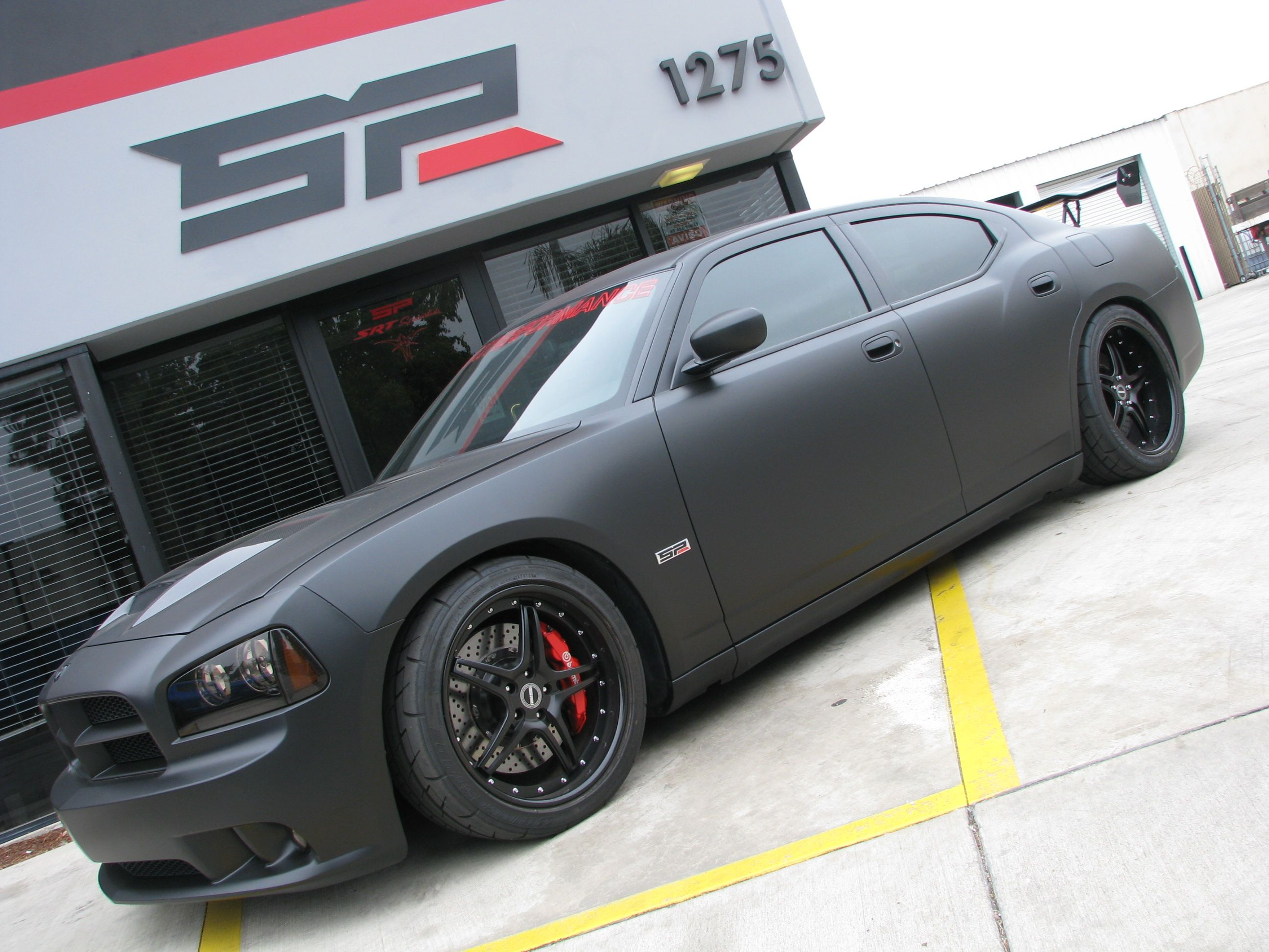 dodge charger matte black - Buscar con Google | Cool ...