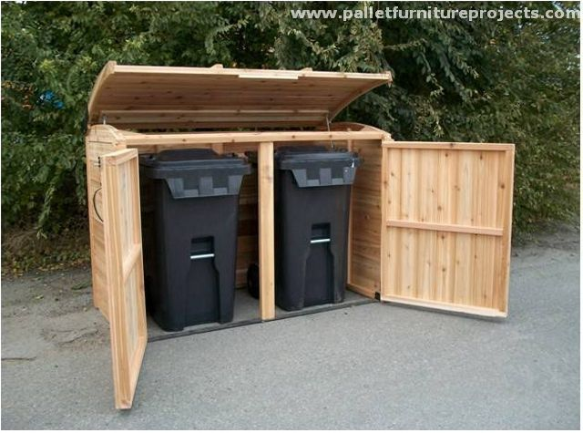 Pallet-Storage-Cabinet-in-Outdoor.jpg (640×475)   Garbage Can ...