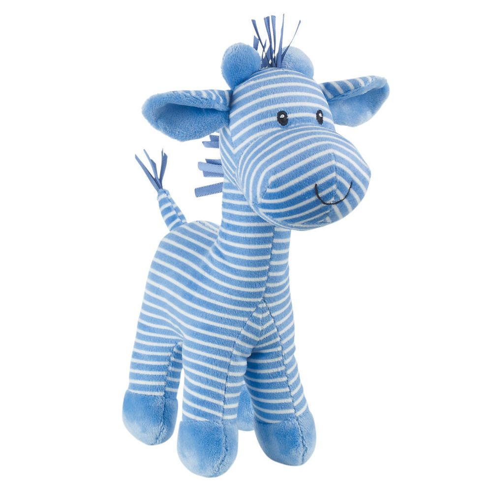 Blue Baby Toys : Mothercare baby s toy stripy giraffe toys