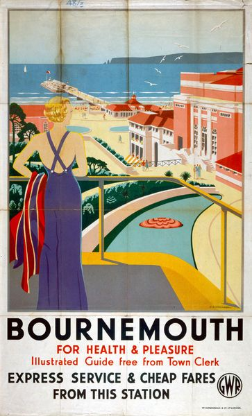 Photograph 39 Bournemouth 39 Gwr Poster 1923 1947 10 X8 Photo Print Expertly Made In The Usa In 2020 National Railway Museum Railway Posters Poster