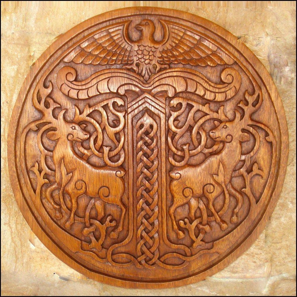 Viking Wood Carving Designs