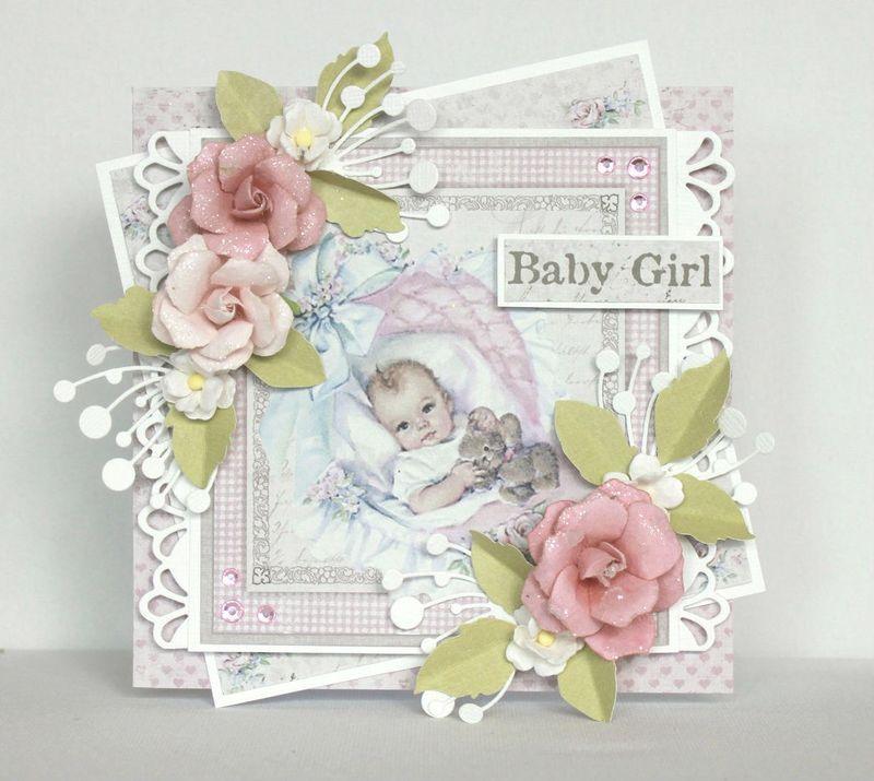 Открытки скрапбукинг фото новорожденным, печать открыток кривые