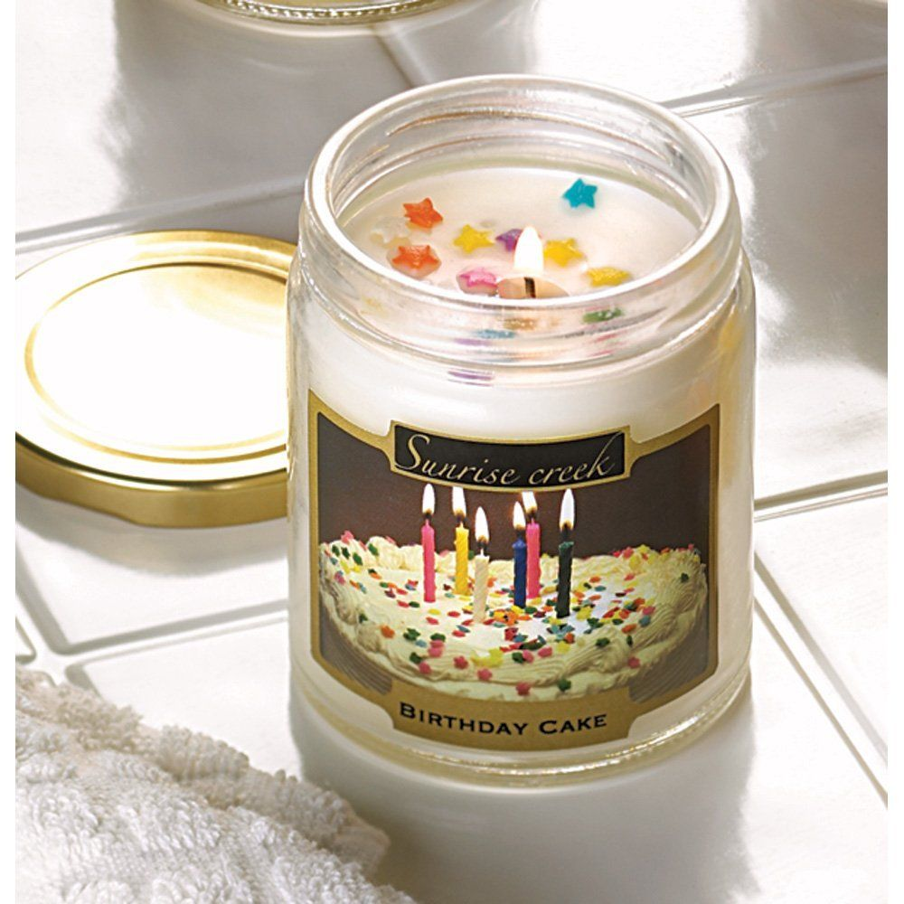 Amazoncom Birthday Cake Scented Candle Yankee Candle For the